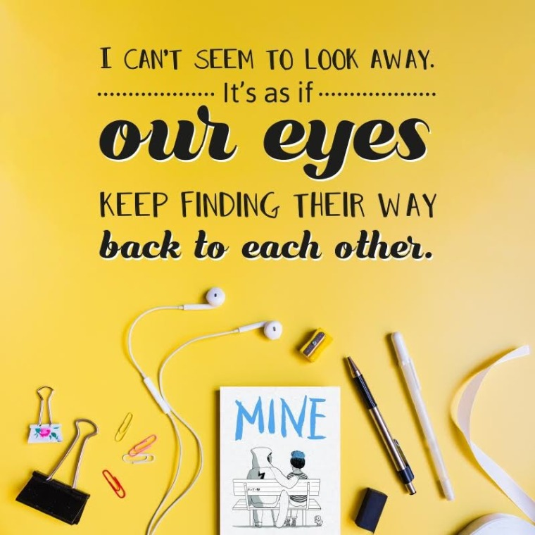 Mine cover quote