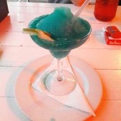 The Mexican blue margarita