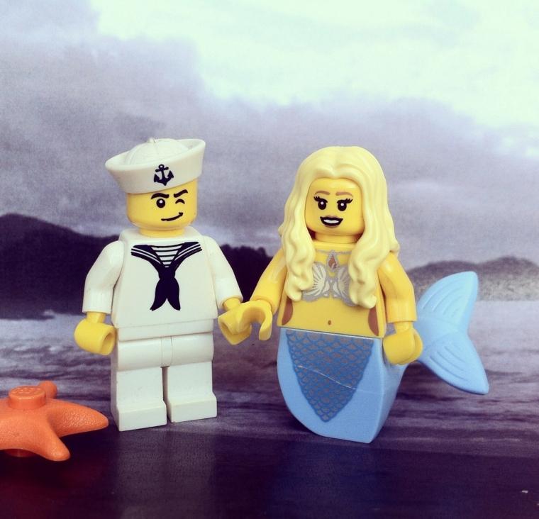 LEGO Mrs Hancock
