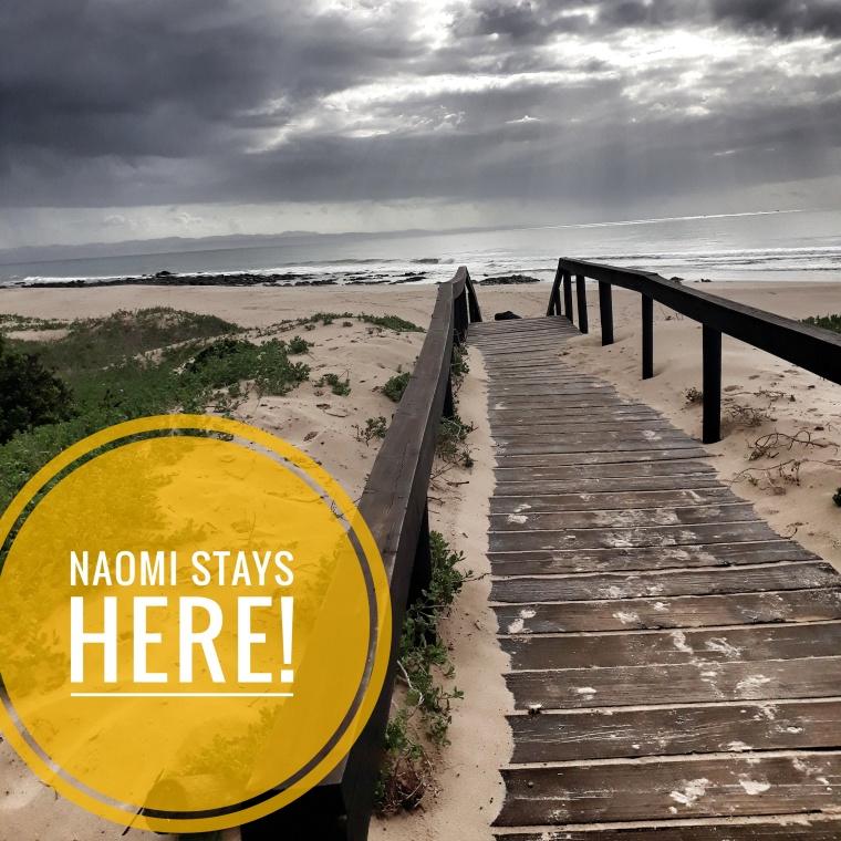 Naomi's steps